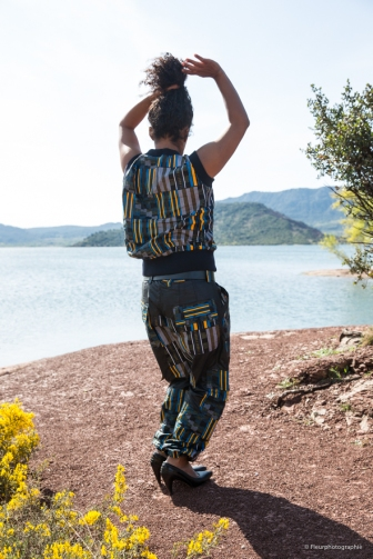 Simone Mangwa, avril 19