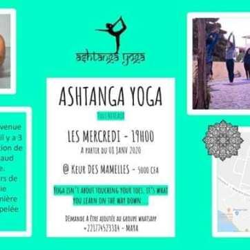 Asthangia yoga à Dakar