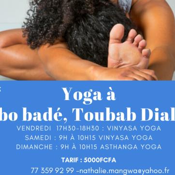 Yoga à Toubab Dialaw