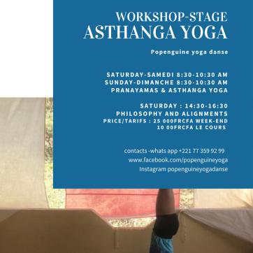Stage asthanga 12 juillet 20